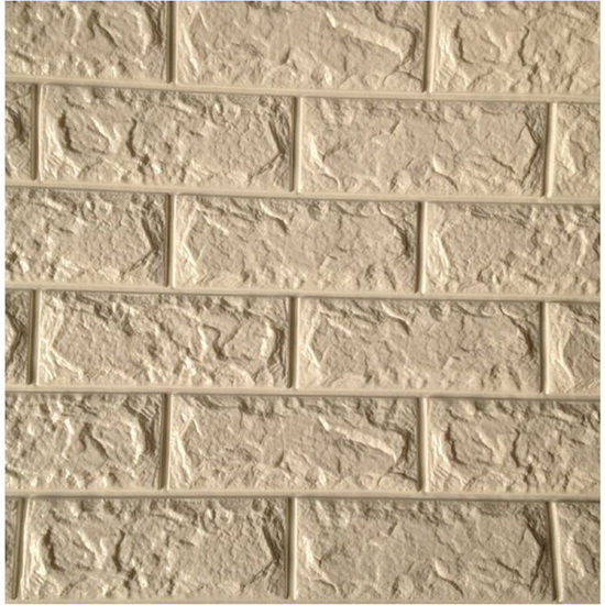PE Foam 3D Stone Non-toxic Beautiful Wallpaper
