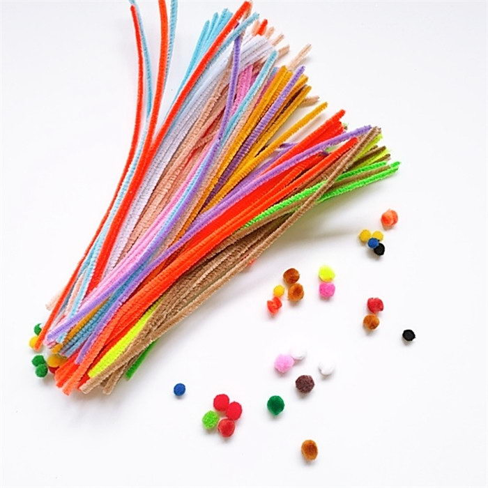 Colorful Chenille Stem/ Glitter Pipe Cleaners