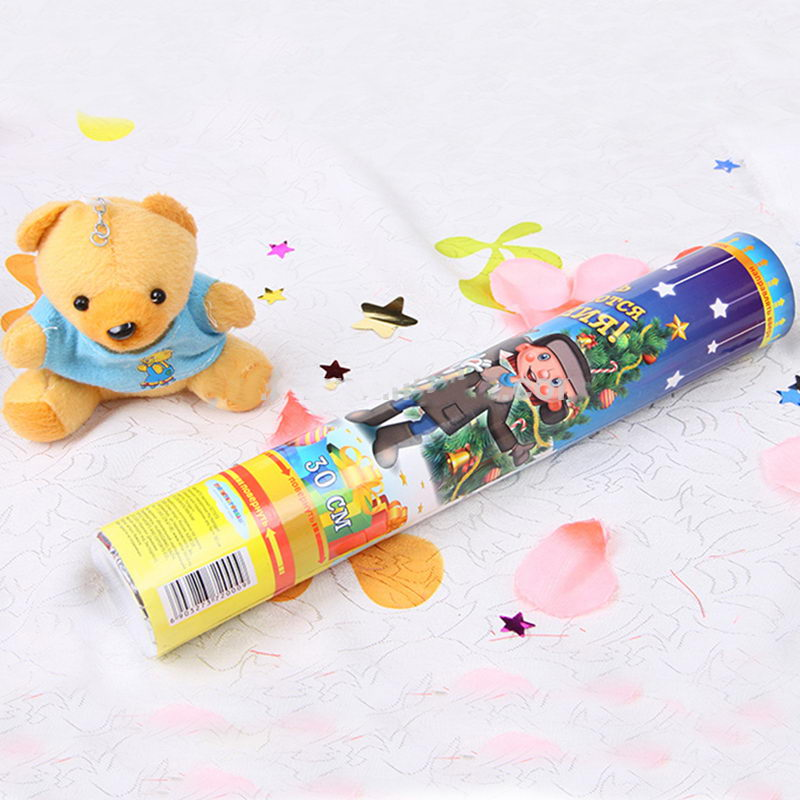 High Quality Christmas Confetti Party Popper No Firework