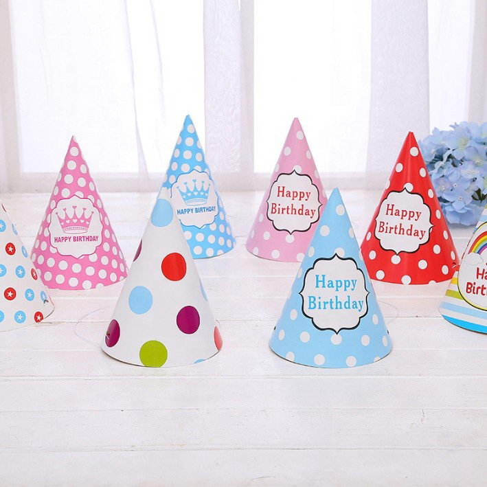 Cone Birthday Party Hats for Children