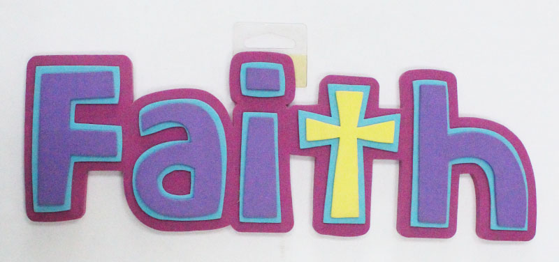 EVA Foam Letters-faith