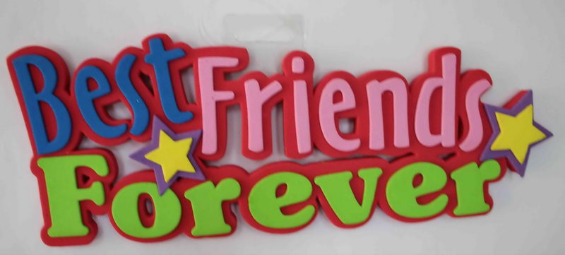 EVA Foam Letters-Friends