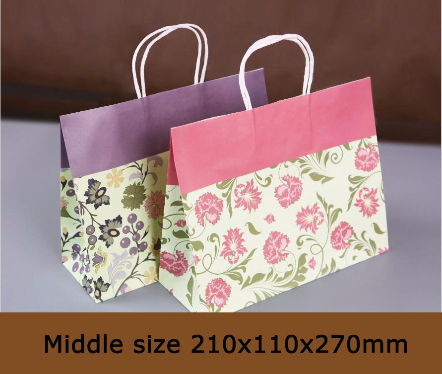 Colorful Printed Gift Bags